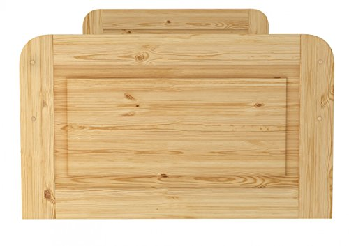 60.42-10 oR Seniorenbett Massivholz 100 x 200 cm, extra hohes Bett - 4