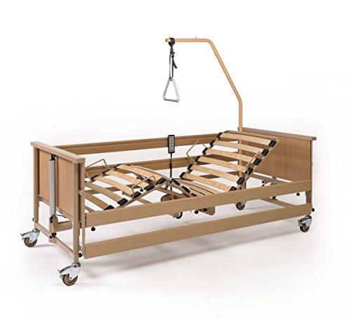 Burmeier Pflegebett Dali II mit 24 Volt und Aufrichter Krankenbett