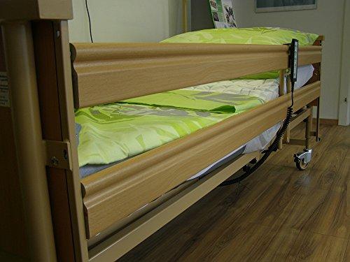 Burmeier Pflegebett Dali II mit 24 Volt und Aufrichter Krankenbett - 4