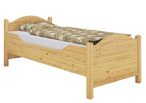 60.40-10 Seniorenbett Kiefer Massivholz 100×200 cm kompl. mit Rollrost - 4