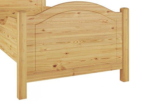 60.40-10 Seniorenbett Kiefer Massivholz 100×200 cm kompl. mit Rollrost - 6