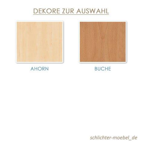Seniorenbett, Holzbett (Buche, 100 x 200 cm) - 3