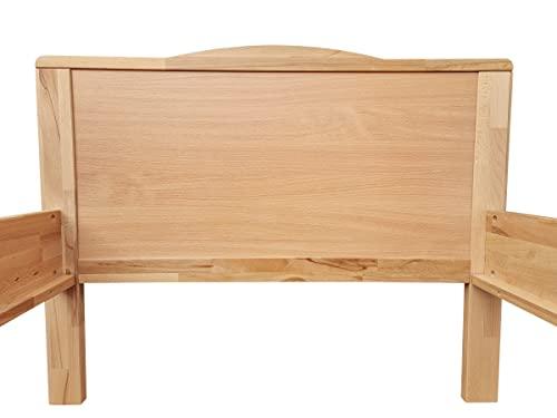 Erst-Holz® Seniorenbett Buche Natur - 4