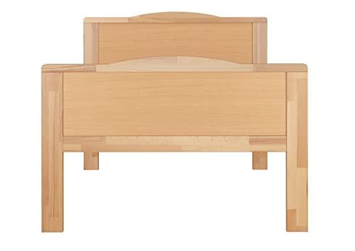 Erst-Holz® Seniorenbett Buche Natur - 6