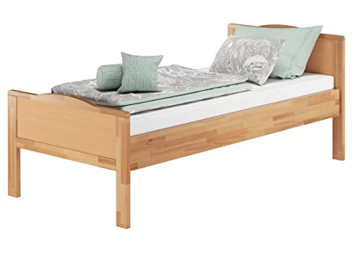 Erst-Holz® Seniorenbett Buche Natur - 5