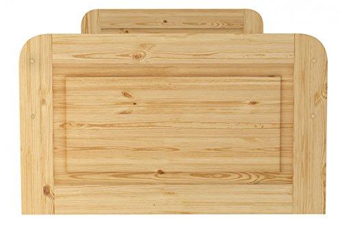 Erst-Holz® Seniorenbett extra hoch 100×200 - 3