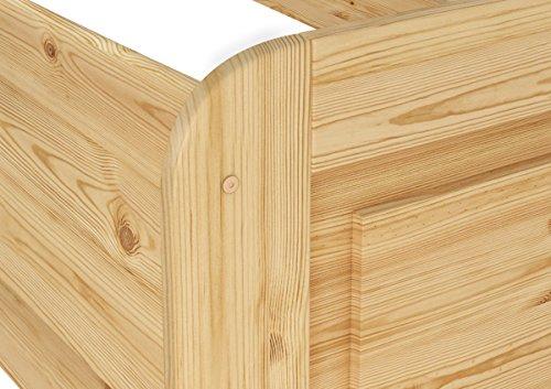 Erst-Holz® Seniorenbett extra hoch 100×200 - 7