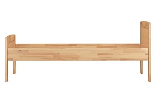 Erst-Holz® Massivholzbett 100×200 Einzelbett - 2