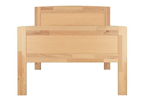 Erst-Holz® Massivholzbett 100×200 Einzelbett - 4