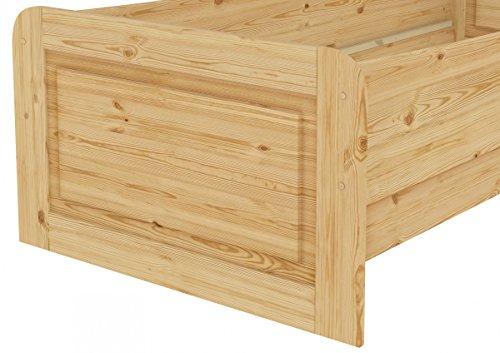 60.42-09 oR Seniorenbett Massivholz 90 x 200 cm, extra hohes Bett - 6