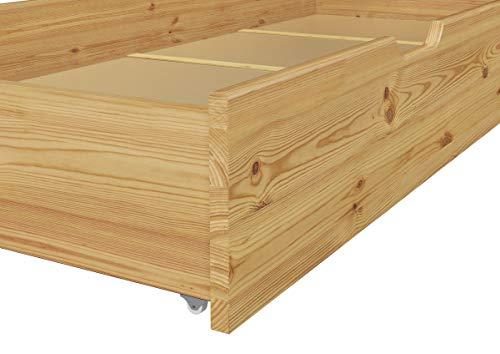 60.40-10 oR S4 Seniorenbett, Bettgestell Kiefer 100×200 cm, incl. Staukasten - 7