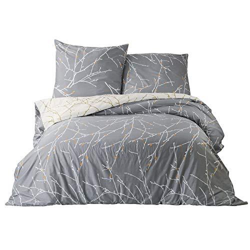 Bedsure Baumwolle Bettwäsche 135x200 cm
