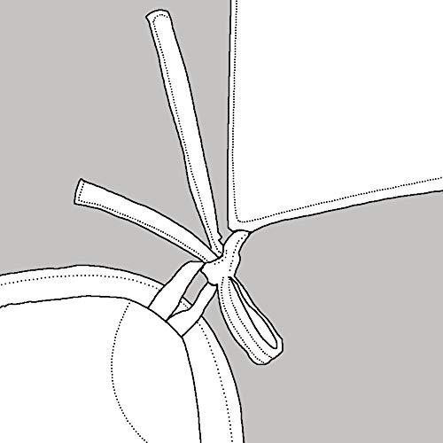 KEAYOO Bettwäsche Grau Weiß 135x200 Geometrische Wendebettwäsche 100% Bauwolle 2 Teilig Set mit Reißverschluss - 9
