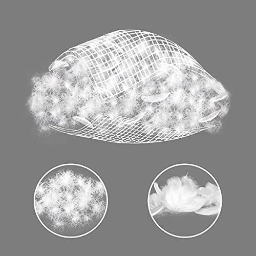 Umi. Essentials Luxus Warme Gänsefedern und Daunen Winterbettdecke Extra Warm, 100% Baumwolle Shell Steppdecke, Bettdecke 200x200cm - 6