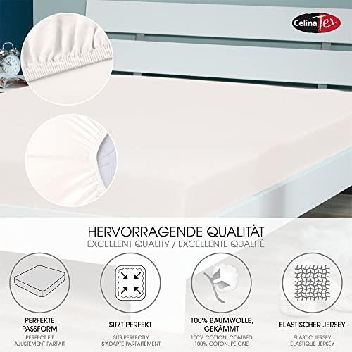 CelinaTex Lucina Spannbettlaken 180×200 – 200×200 - 2