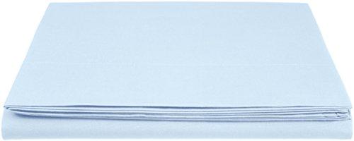 Bettlaken, Baumwolle, 280 x 320 cm - Blau