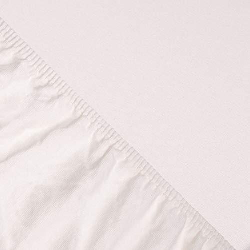 SPANNBETTLAKEN FÜR WASSERBETT & BOXSPRINGBETT – EXTRA HOHER Steg – 180×200-200×220 – ca. 170g/m² – Öko Tex Zertifikat – Avantgarde-Bettlaken – 100% Jersey-Mako-Baumwolle (19-dunkelgrau) - 7