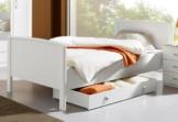 PACK´S Komfortbett , weiß, 100/200cm, »Torrent«, Rauch
